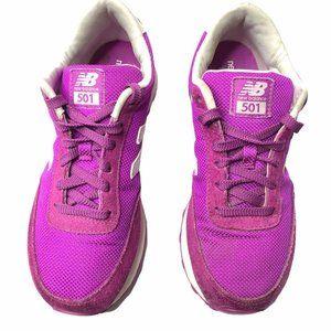 New Balance 501 Classic Running Fuchsia Shoes 6.5